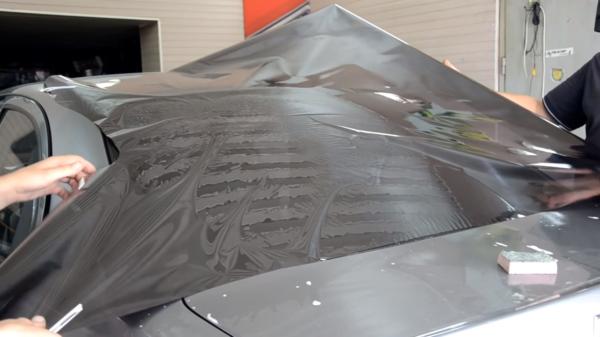 Тонировка авто заднего стекла