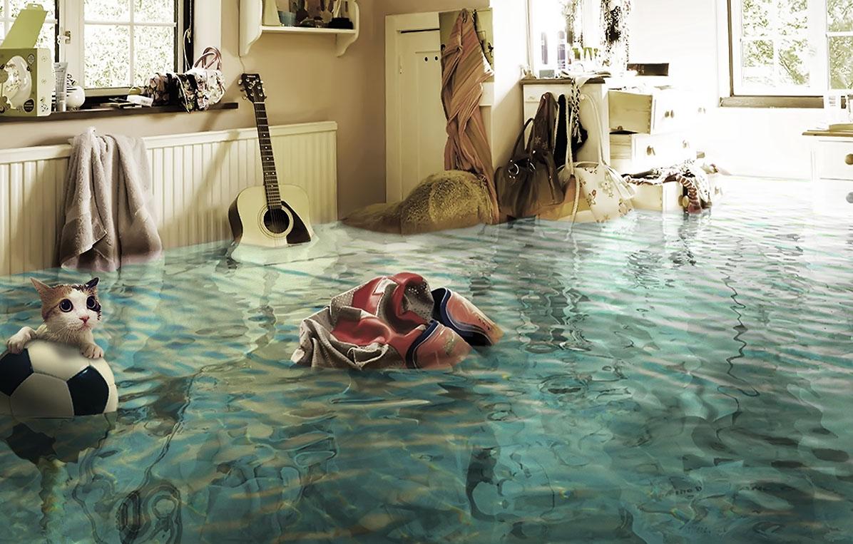 Потоп в квартире 1