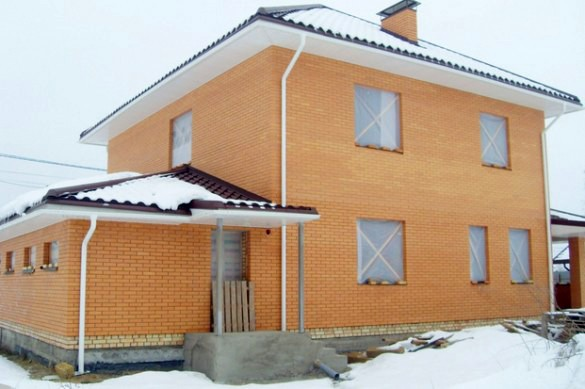 Консервация кирпичного дома