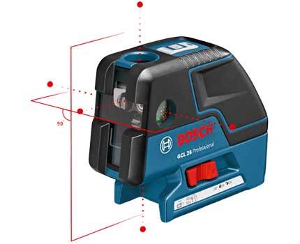 Точечный лазерный уровень Bosch GSL 25