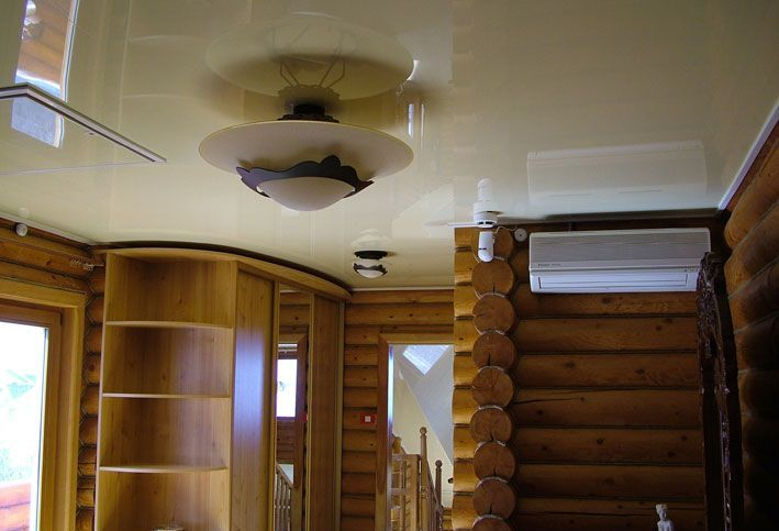 Натяжной потолок для дачи