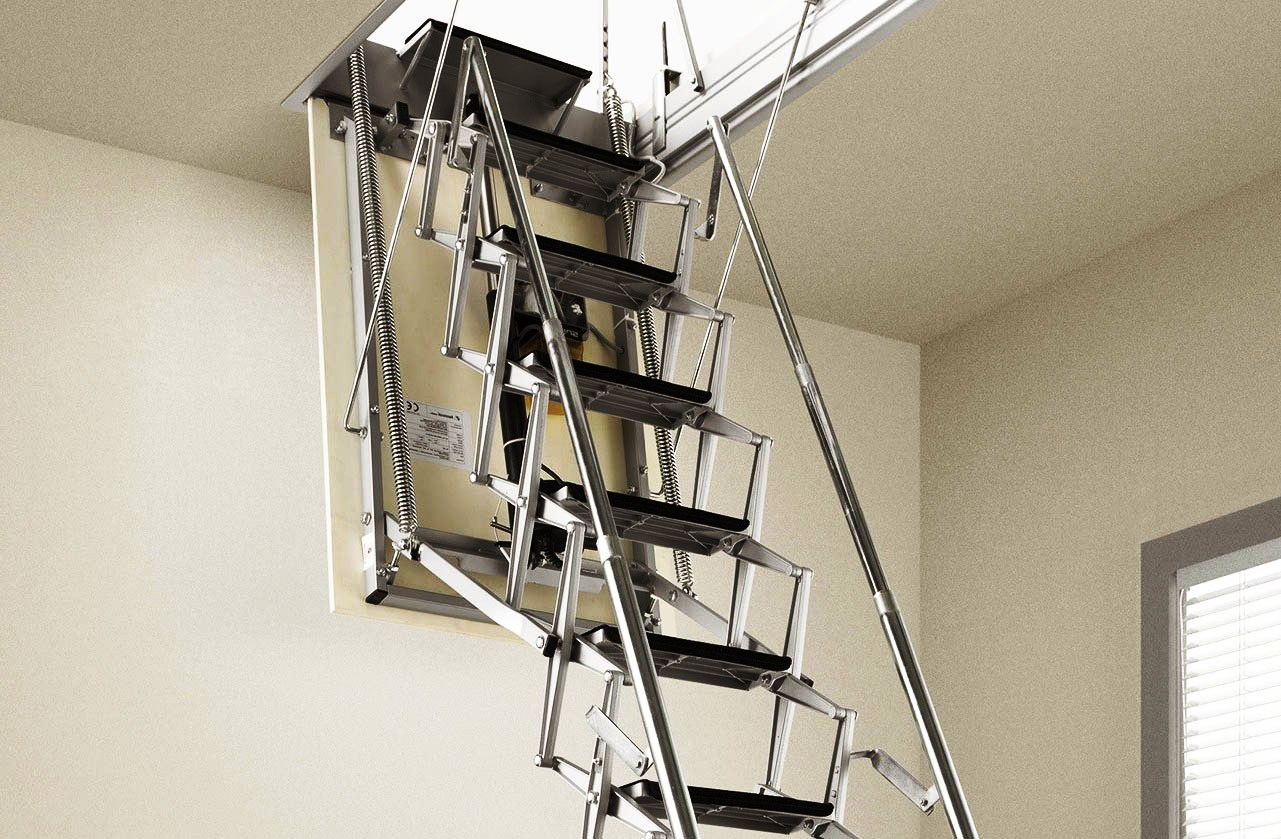 Чердачная лестница - эксперты рассказывают, какую купить лестницу